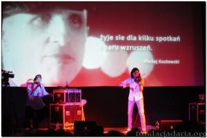 Muzyczna improwizacja L.U.C i Adama Bałdycha